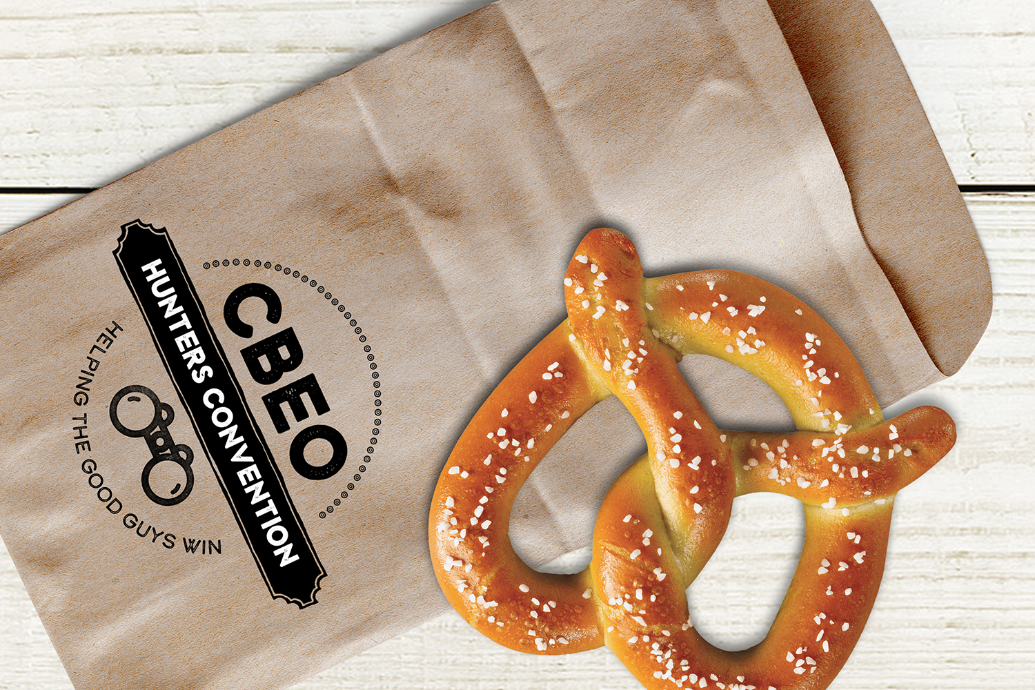 CBEO Hunters Convention Official Pretzel