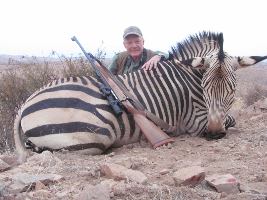 If I penny-pinched, I wouldn't have gotten this Zebra on my African hunt