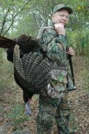 Turkey hunting varies quite a bit from place to place. This is an Osceola gobbler from Florida; for me this is most difficult turkey because, in the typical warm weather, these turkeys are often very quiet.