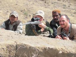 I used Trijicon's 5-20X mil-dot reticle on a recent hunt in Pakistan. I had done my homework and knew the values for both the mil-dot and the turret adjustments, and I was ready for shots at longer ranges.