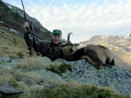 I took this Pyrenean chamois in Spain in 2005.  It was a tough hunt, but I missed two shots